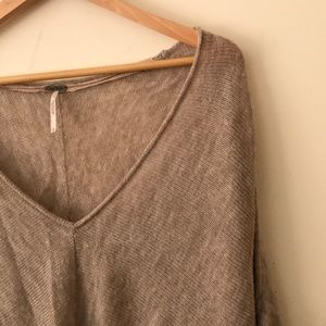 Free People Sweaters - Free people Sadie Pullover Knit in Oatmeal